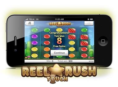 Reel Rush mobil